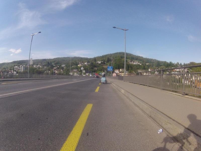 Von Baden nach Obersiggenthal