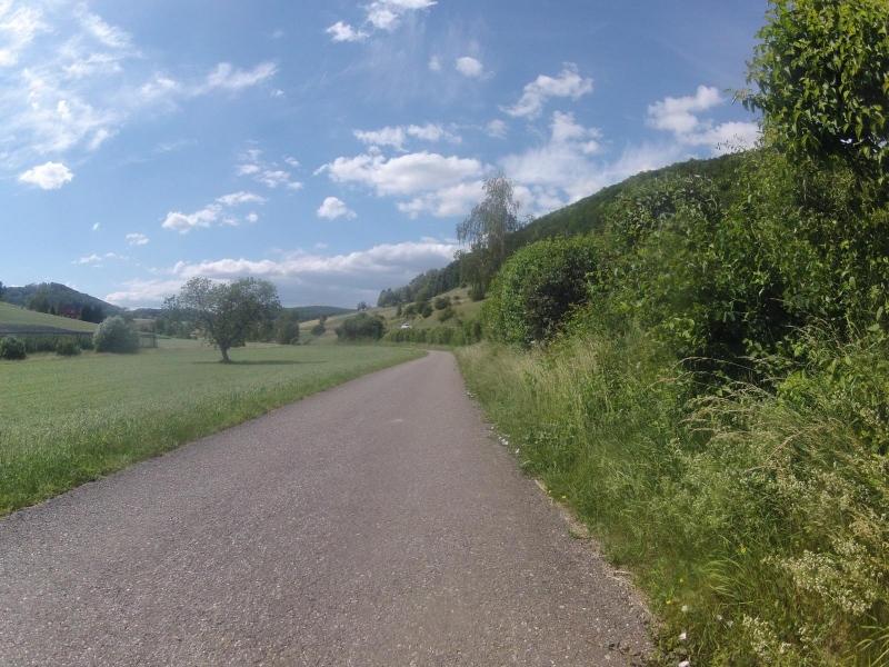 Radweg von Remigen nach Mönthal