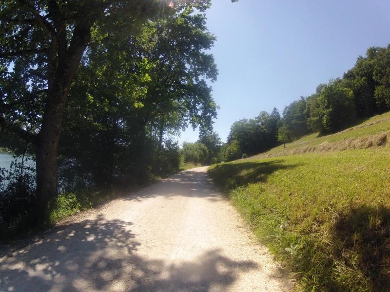 Radweg zwischen Auenstein und Biberstein