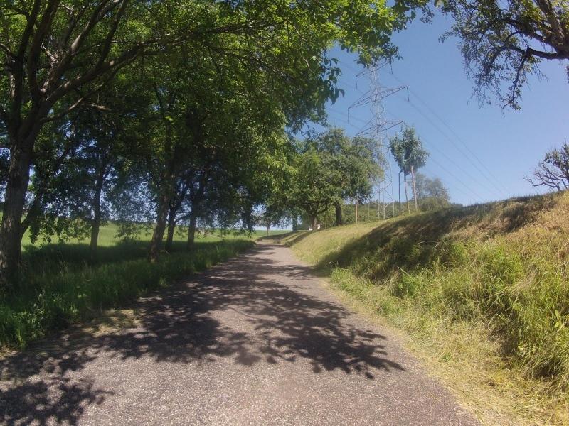 Radweg von Würenlingen nach Unterendingen