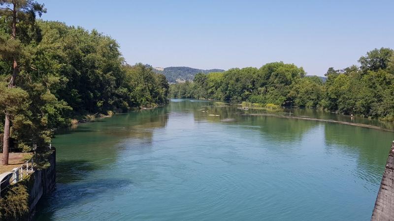 Aare bei Schinznach-Bad