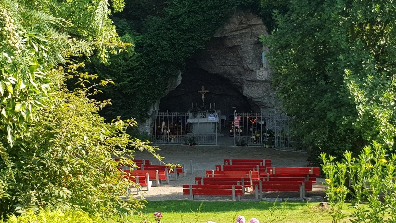 Lourdes Grotte bei Leuggern