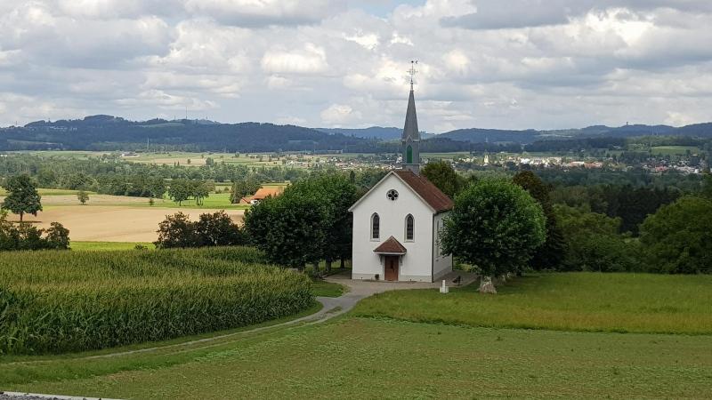 Kapelle zwischen Merenschwand und Birri