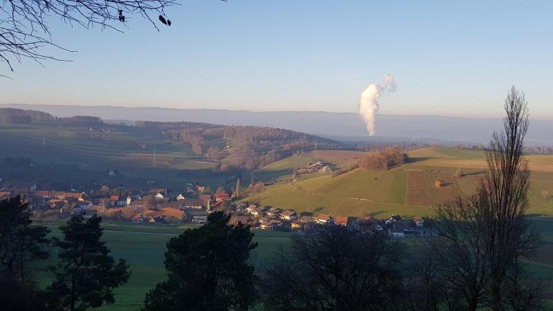 Blick ins Rheintal vom Rotberg her
