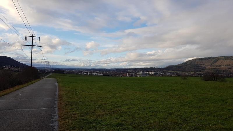 Blick Rheintal abwärts