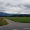 Blick zum Alpenkamm, Sins