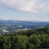Alpenkamm aus Sicht von Vier Linden