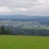 Blick vom Mutschellen über das Reusstal nach Niederwil