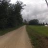 Auf Gravel der Aare entlang