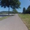 Im Rheintal aufwärts, bei Kaiserstuhl