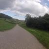 Radweg vom Zurzacherberg herunter