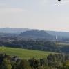 Blick zum Stauferberg, gesehen von Schloss Wildegg