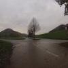 Unterwegs im Regen