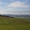 Reussebene, der Nebel löst sich auf
