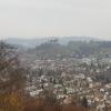 Blick vom Stauferberg zum Schloss Lenzburg