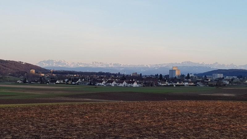 Vom Bünztal zu den Alpen