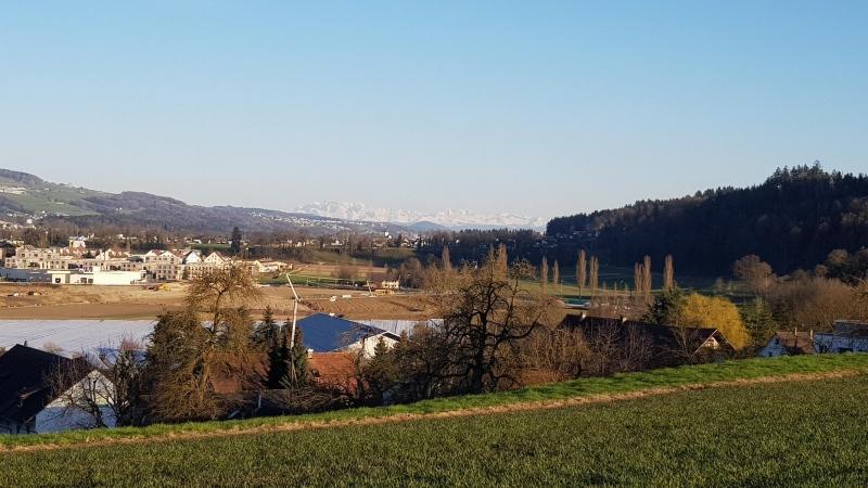 Mellingen und Reusstal aufwärts