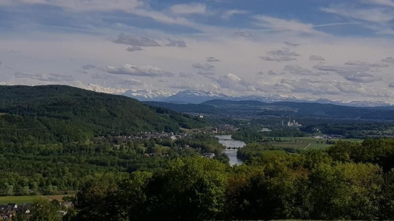 Alpenpanorama von Vierlinden