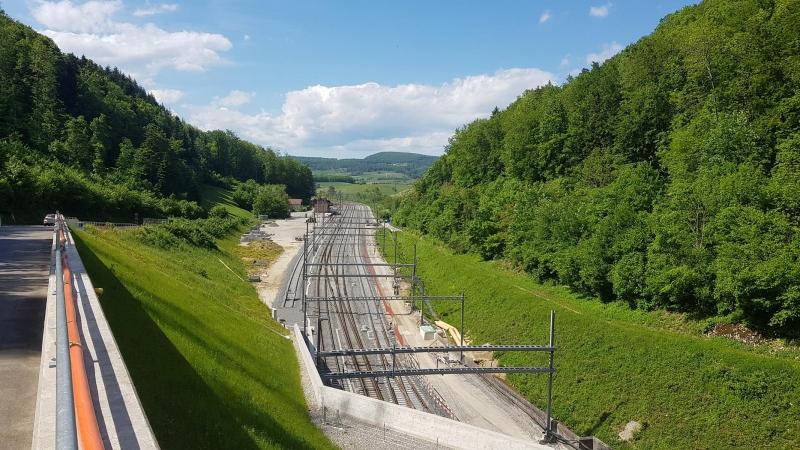 Bözberglinie, Seite Fricktal, Nordportal