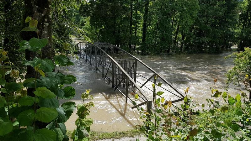 Hochwasser im Wasserschloss