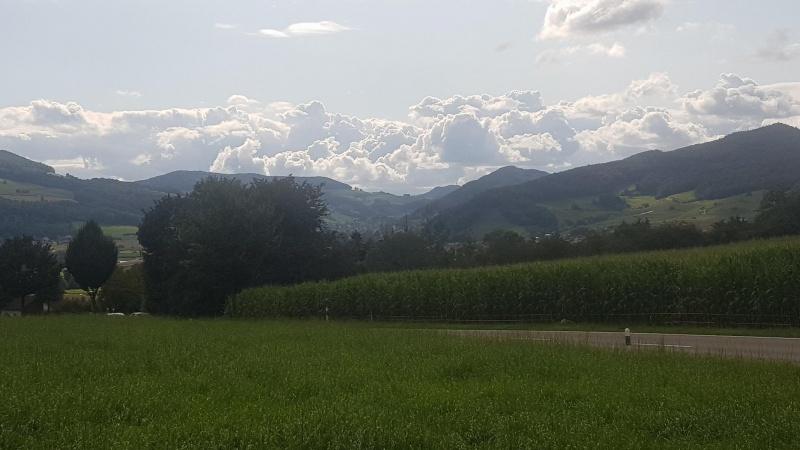 Blick zur Staffelegg