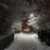 Brugger Quartier im Schnee