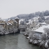 Brugg im Winter