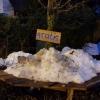 Der Schnee schmilzt