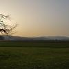 Abendstimmung über dem Birrfeld