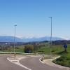 Blick über das Bünztal zu den Alpen