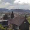 Lenzburg und im Hintergrund Staufen