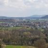 Blick über das Aaretal nach Rupperswil