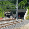 altes und neues Tunnelportal