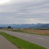 Blick zur Jurakette