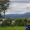 Blick über den Rhein nach Deutschland