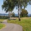 Blick ins Aaretal, zwischen Leibstadt und Leuggern