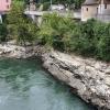 Aareschlucht bei der steinernen Brücke