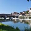 Die Reuss bei Bremgarten