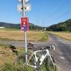 Radweg zwischen Eiken und Kaisten