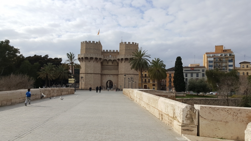 Imposantes Eingangstor zur Altstadt
