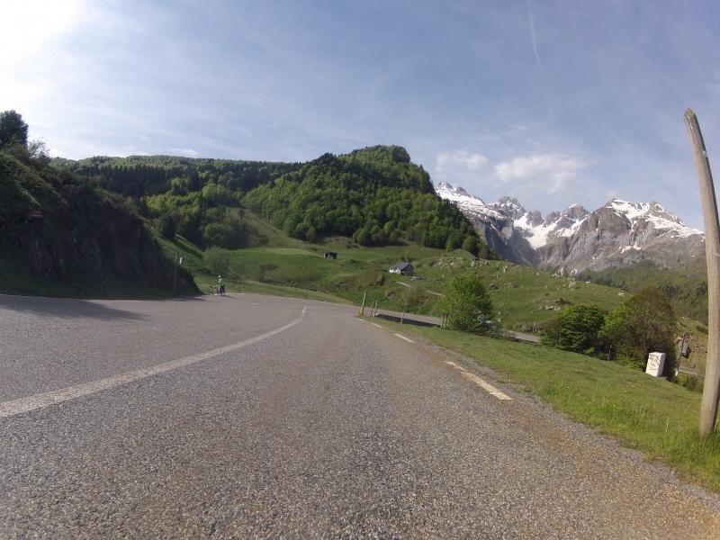 Hinunter ins Tal der La Gave d'Aspe