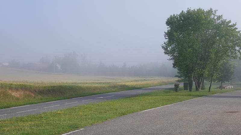 Nebel in den Tälern