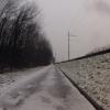 Wie angekündigt: es schneit