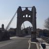 Imposante Brücke