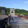 Rhonebrücke südlich Givors