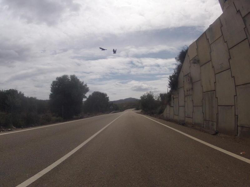 unterwegs von Los Molinos de Rio Aguas nach Las Penas