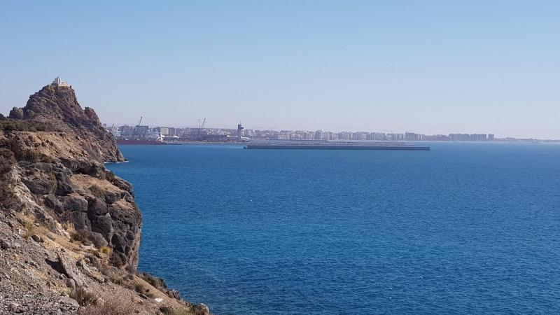 Blick nach Almeria