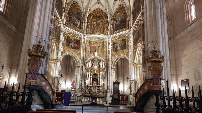 In der Kathedrale von Almeria