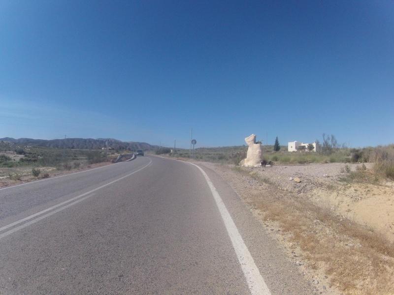 Ins Hinterland nach Los Gallardos hinauf