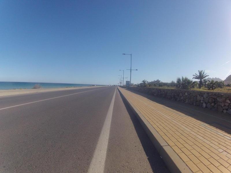 Küstenstrasse zurück nach Mojacar Playa